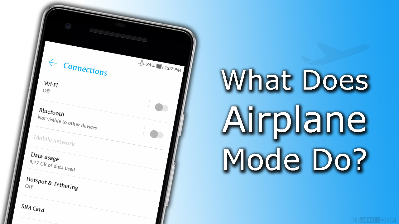 What Does Airplane Mode Do
