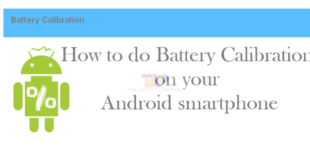 Battery calibration For Android