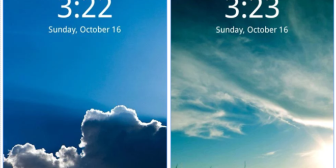 Clock Widget App for Android