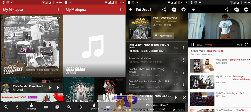 my mixtapes android app