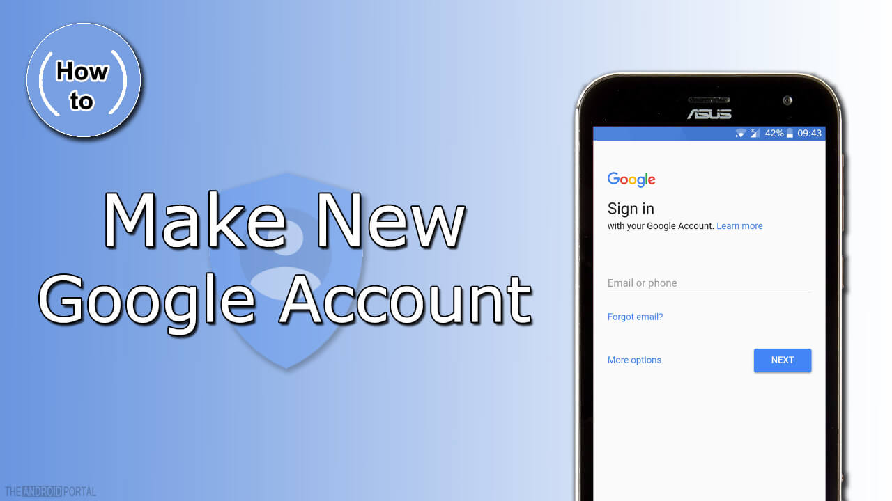 How To Make New Google Account For Android