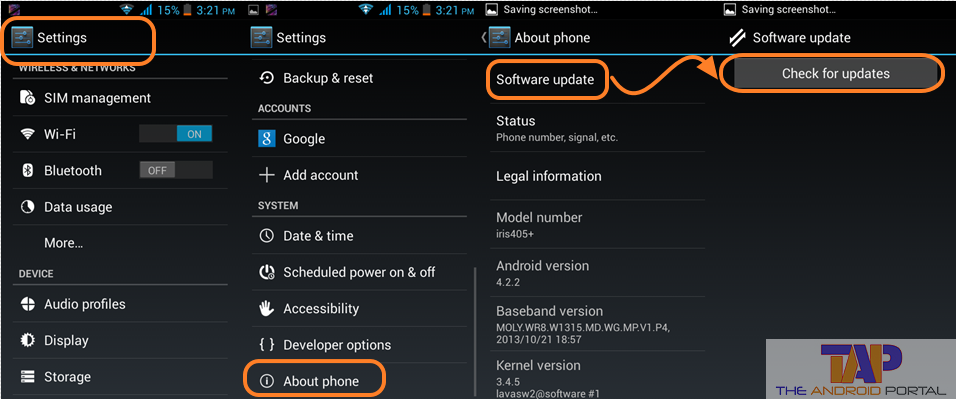 Firmware Updater Android 2