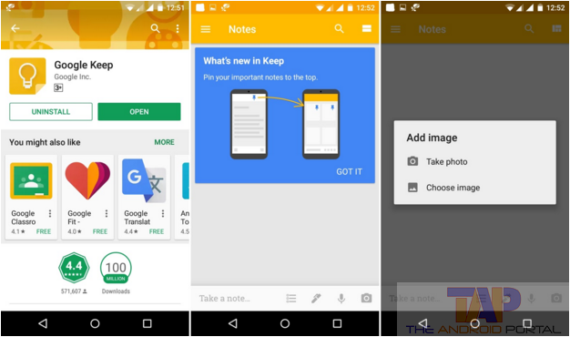 How to backup Notes Using Google keep app