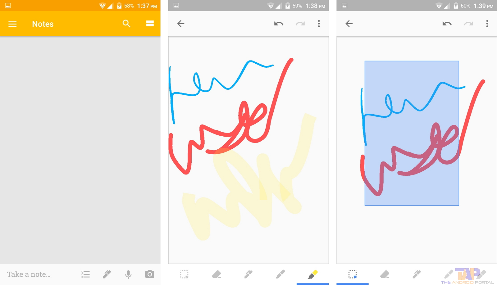 Add drawing note in Keep