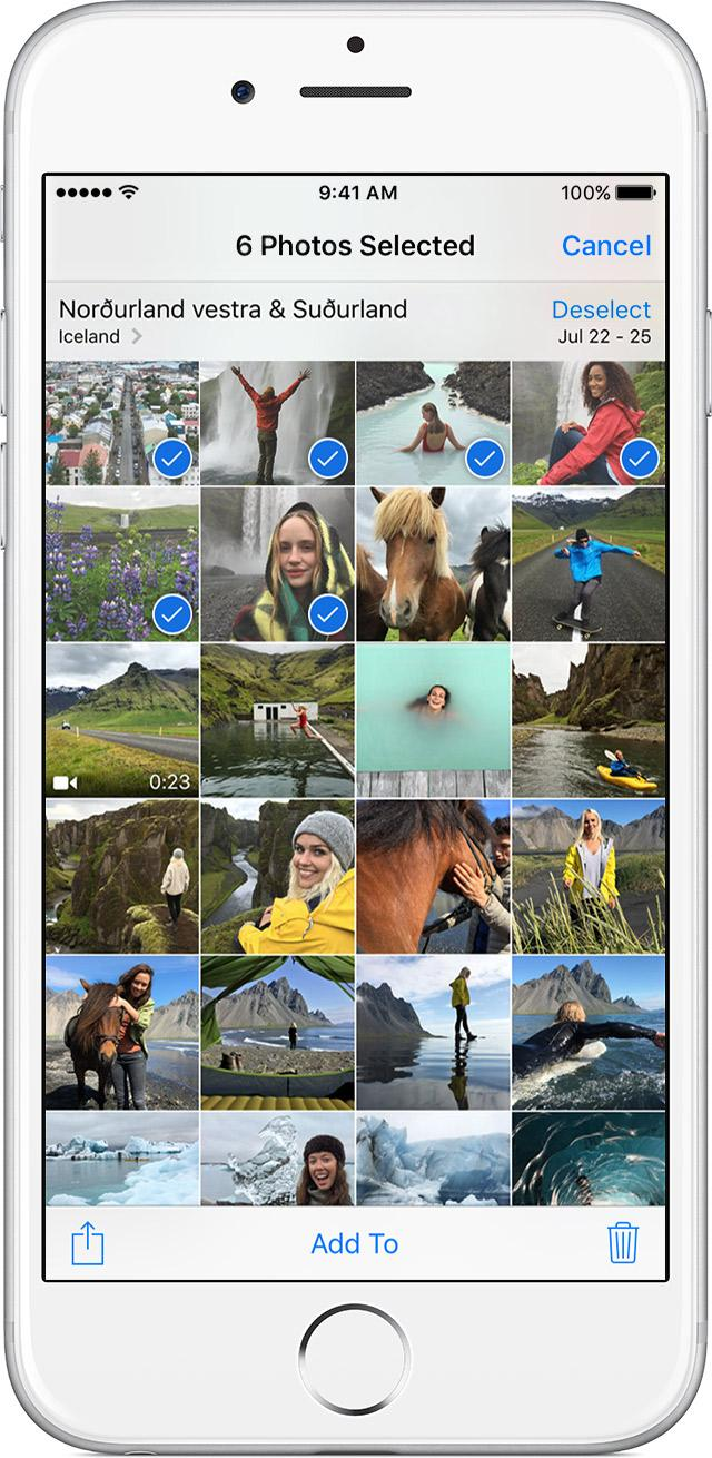 Delete Pictures from iPhone in Bulk