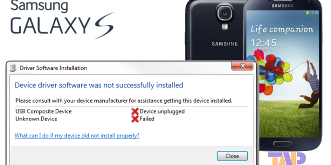 Samsung Galaxy S4 Not recognized by PC (all Galaxy S devices)