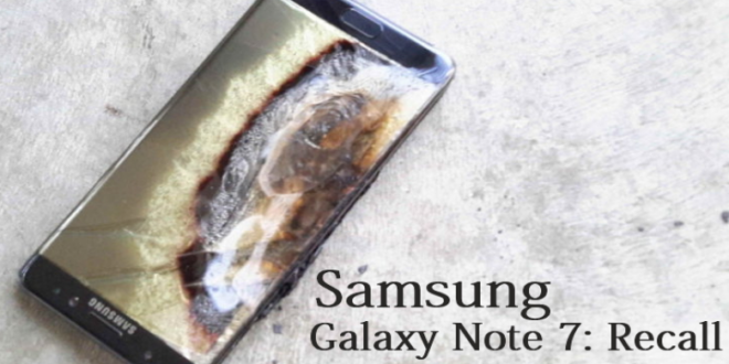 Samsung Investigation Blames Battery Size for Galaxy Note 7 Fire