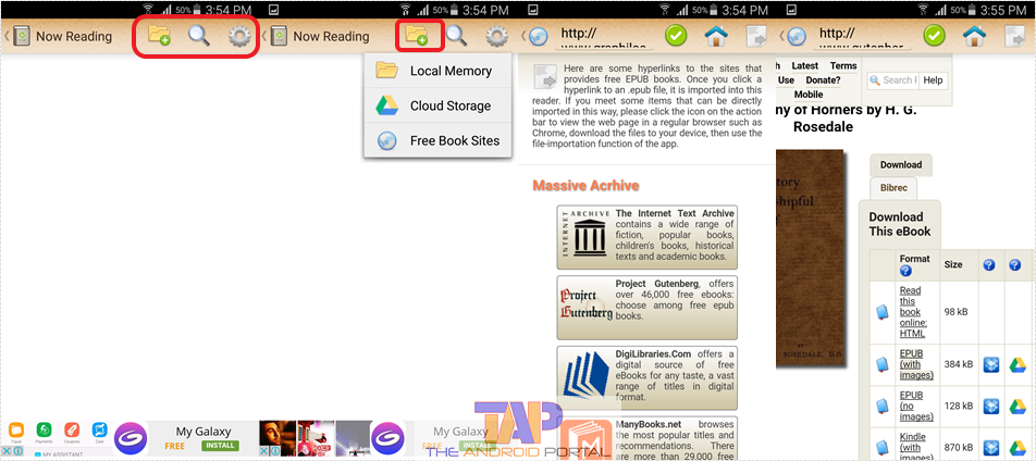Top 5 Free Android PDF to ePUB Converters