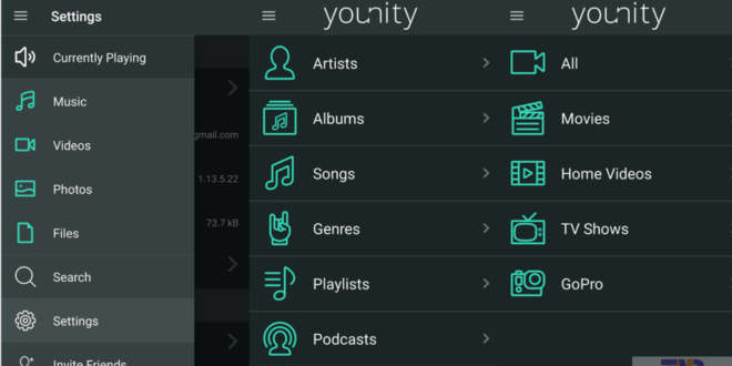younity for Android