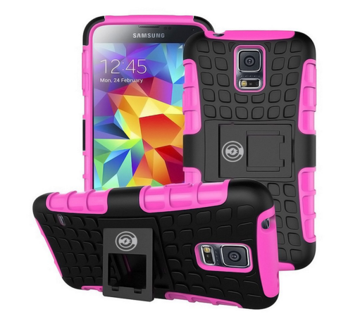 Cable And Case Samsung Galaxy S5 Case with Kickstand