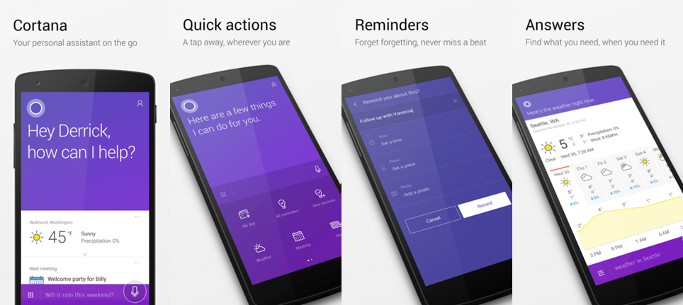 Cortana App for Android