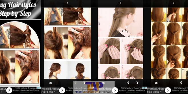 Easy Hairstyles Step by Step Android App
