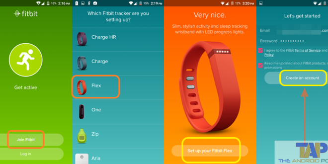 Fitbit App for Android 1