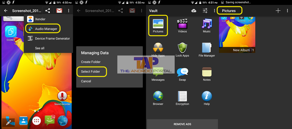 Hide It Pro App or AUDIO MANAGER 2