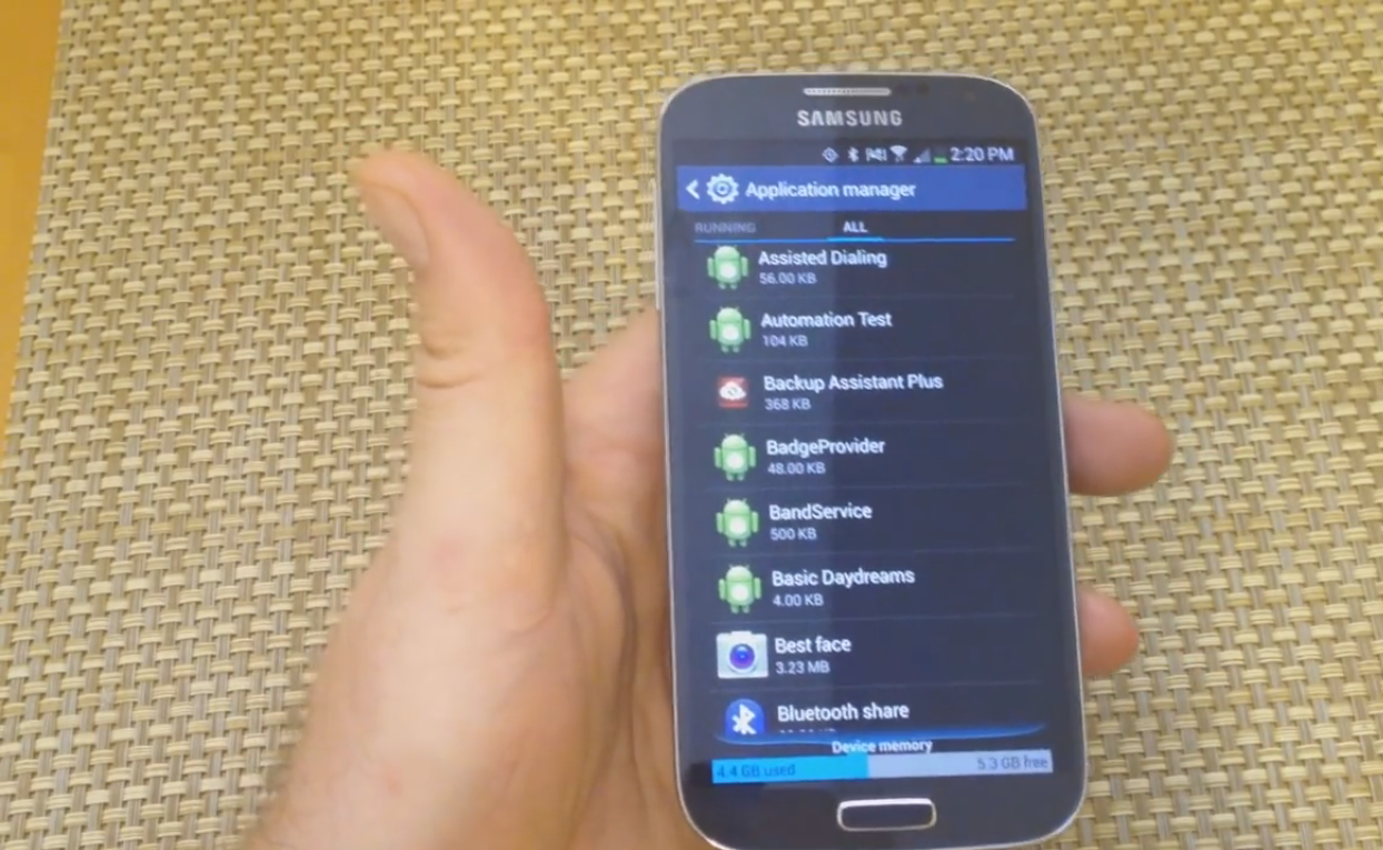 How to Turn On or Off Backup Assistant Plus in Samsung Galaxy Android Phone 1