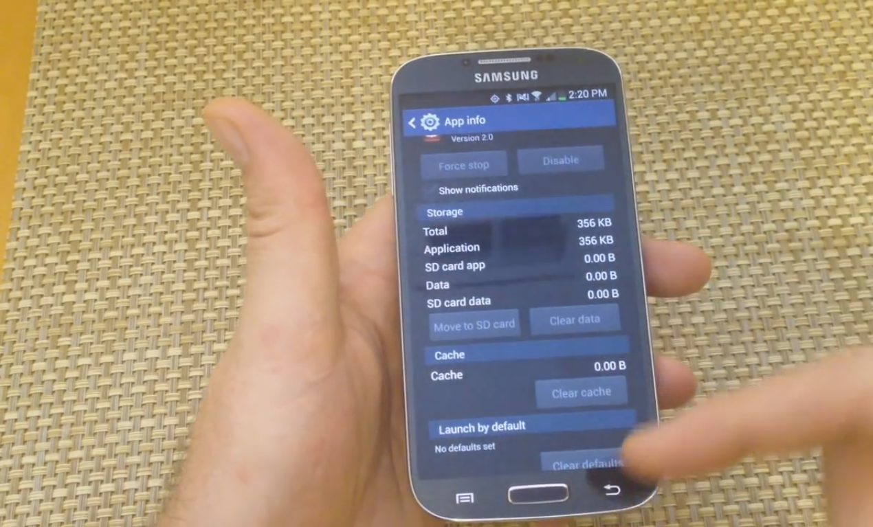 How to Turn On or Off Backup Assistant Plus in Samsung Galaxy Android Phone 2