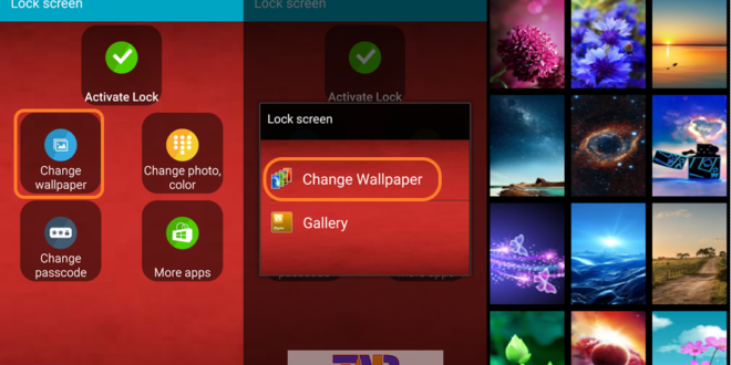 Photo Lock Screen Android App 3
