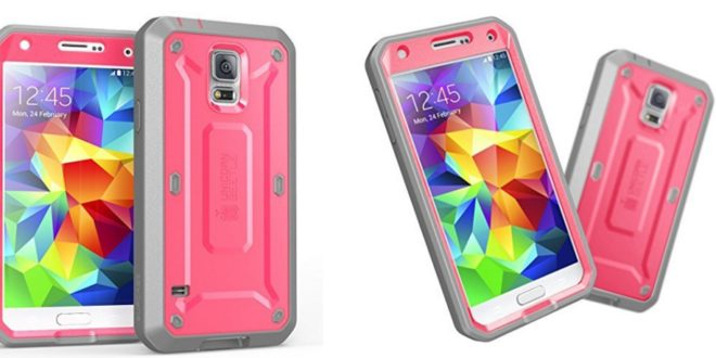 SUPCASE Heavy Duty Galaxy S5 Full-body Rugged Case