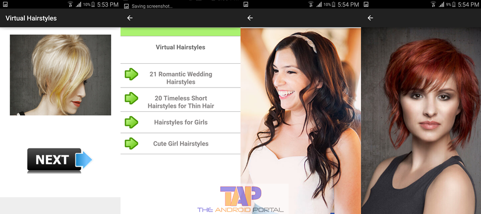 Virtual Hairstyles virtual makeover for hairstyles and makeup Hair Styler App Virtual Hairstyles Android App
