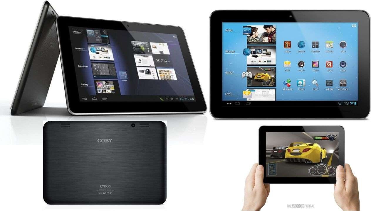 Coby Kyros Widescreen Tablet