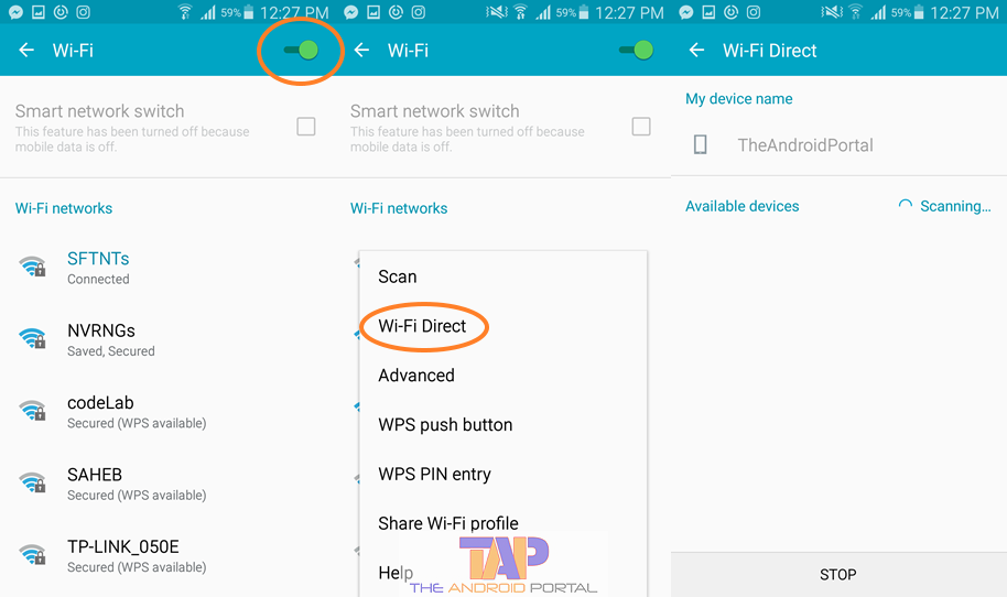 How to Change Android Device Name for Wi-Fi 1