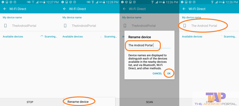 How to Change Android Device Name for Wi-Fi 2