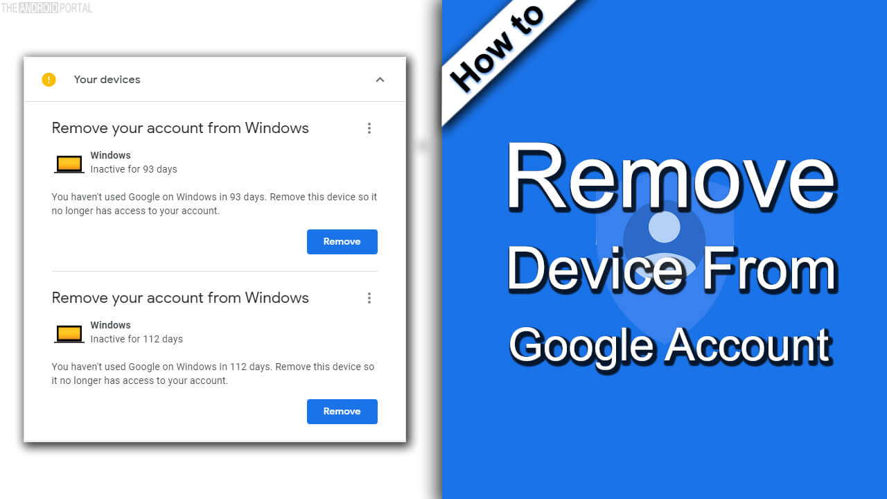 How to Remove Device From Google Account01