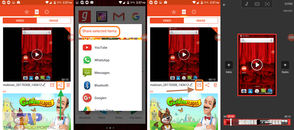 Mobizen Screen Recorder App 2