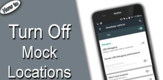 Turn Off Mock Locations Android