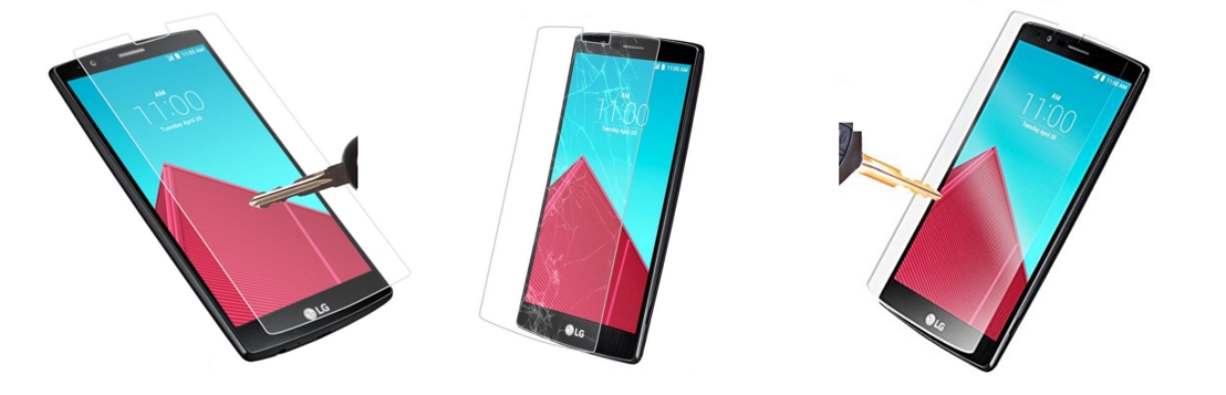 Voxkin Protective Tempered Glass LG G4 Screen Protector