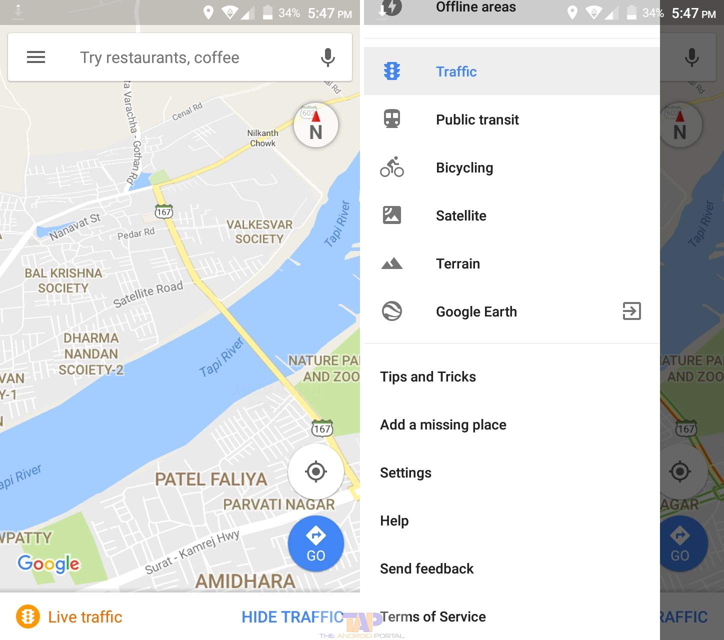 Delete Maps History How To Clear Google Maps History On Android Phones