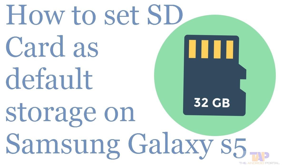 how to save pictures to sd card on galaxy s5