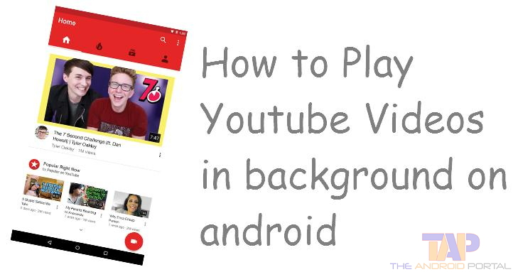 YouTube Video Won't Play In The Background?? [Best Solution]