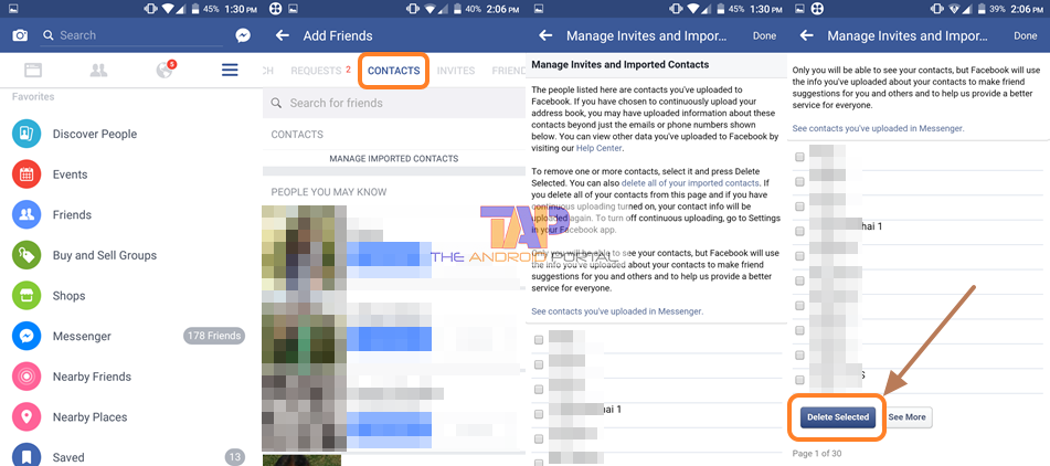 How to Sync Facebook Contacts to Android Mobile 2