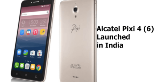 Alcatel Pixi 4 (6) Launched