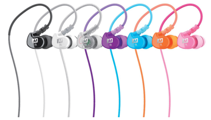 MEE audio Memory Wire In-Ear Headphones with Microphone