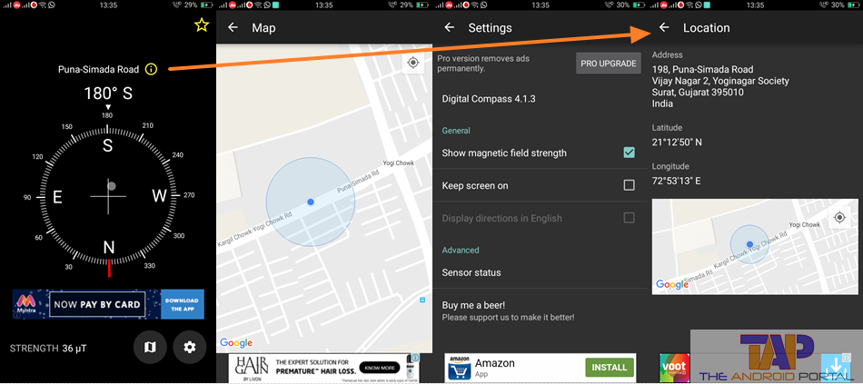 Best Compass Apps for Android - Digital Compass App