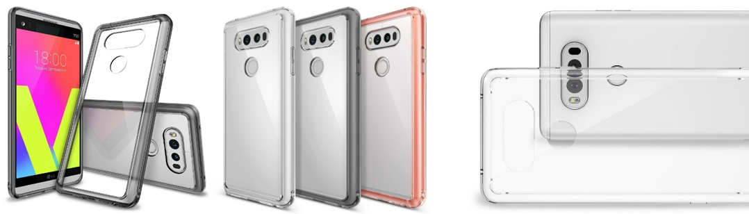 Ringke Clear PC Back TPU Protective Cover