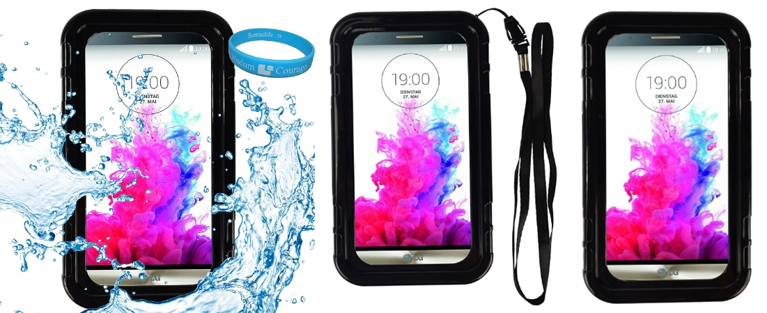 SumacLife Waterproof Water Resistant Case Cover