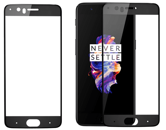 OnePlus 5 3D Tempered Glass