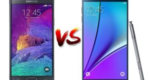 Samsung Galaxy Note 4 vs Note 5