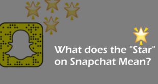 What Does The Star On Snapchat Mean