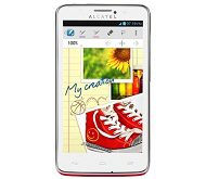 Alcatel One Touch Scribe Easy 8000D front