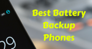 Best Battery Backup Phones