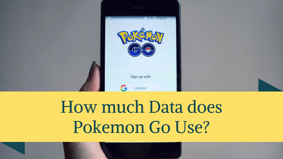 How much Data does Pokemon Go Use