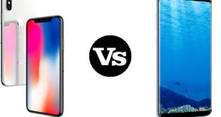 iPhone X vs Galaxy S8 plus