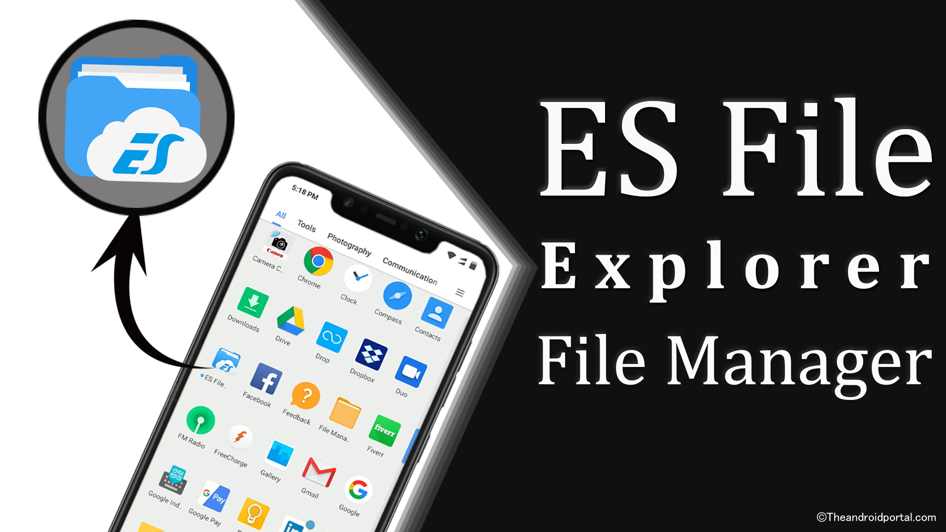 ES File Explorer File Manager – Best File Manager For Android - theandroidportal.com