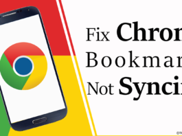 Fix Chrome Bookmarks Not Syncing on Android - theandroidportal.com