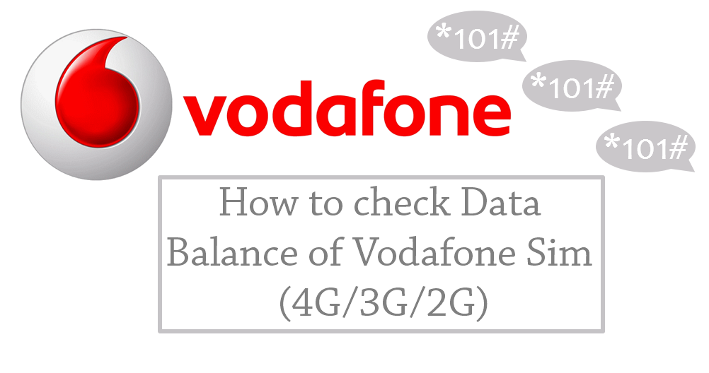 How To Check Vodafone Net Balance