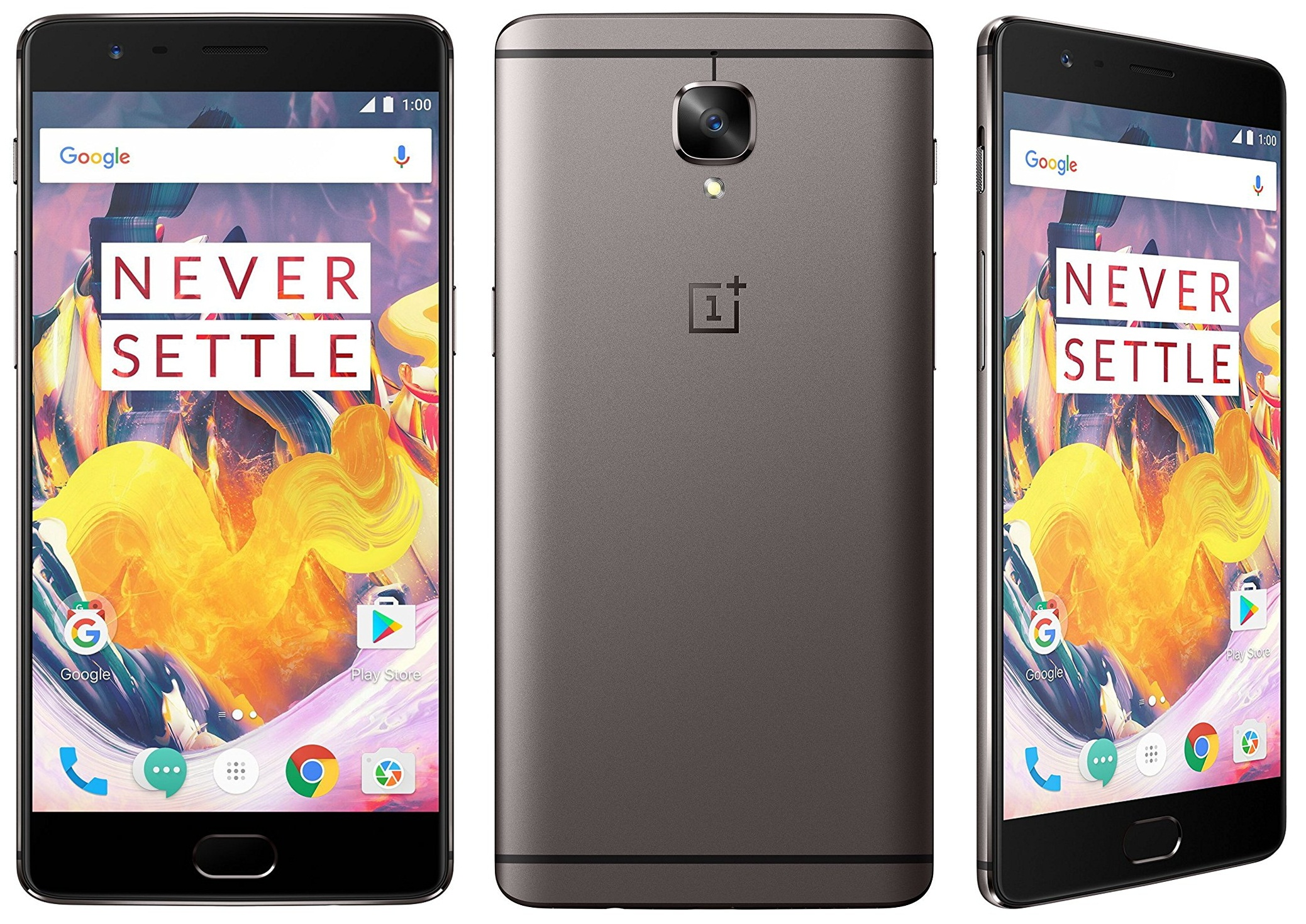 OnePlus 3T front-horz